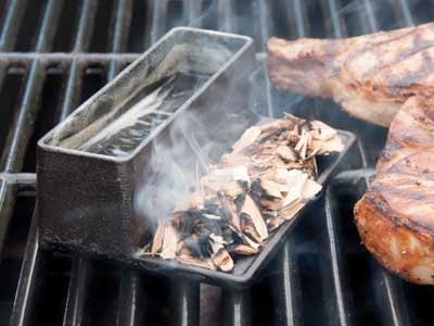 The Diamant Grill is an ideal smoker.